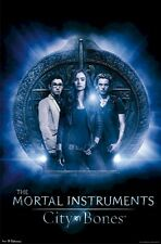 MORTAL INSTRUMENTS MOVIE POSTER ~ CITY OF BONES SYMBOL 22x34 Lily Collins