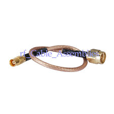 RF Jumper pigtail cable MCX female to SMA male RF cable RG316 15cm for wireless
