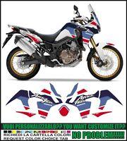 kit adesivi stickers compatibili africa twin crf 1000 L tribute 1988