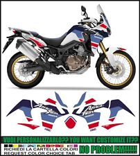 kit adesivi stickers compatibili africa twin crf 1000 L tribute 1988