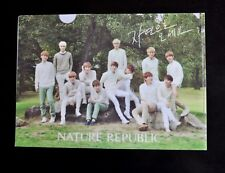 EXO M K 엑소 Nature Republic Clear File Folder KPop