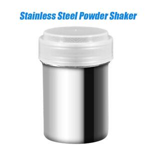 DIY Stainless Steel Chocolate Salt Shaker Cocoa Flour Sugar Powder Coffee Sifter