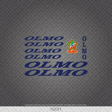 01231 Olmo Bicycle Stickers - Decals - Transfers - Blue
