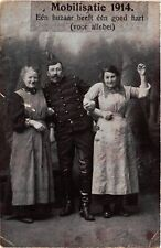 CPA  Militaire - Mobilisatie 1914 - Eén huzaar heeft één goed hart  (696619)