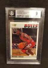 1997-98 Fleer Decade of Excellence Michael Jordan Retro 1987-88 Rookie BGS 9