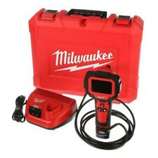 Milwaukee Inspection Camera 9 ft. Cable Kit Test Meter 12-Volt Li-Ion Cordless