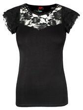 Cap Sleeve Regular Casual Tops & Shirts for Women