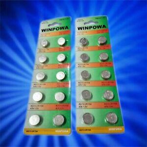 Alkaline batteries  AG3, AG4,  AG10, AG13 NO Hg in Melb Long Expiry