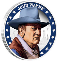 IN STOCK 2020 JOHN WAYNE 1oz $1 Silver 99.99% Dollar Proof Coin