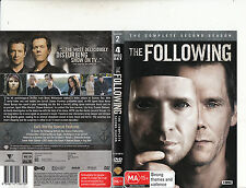 The Following-2013-TV Series USA-Complete Second Season-[4 Disc Set]-DVD
