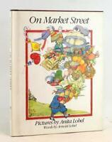 Anita & Arnold Lobel Signed Limited Edition w/Poster 1981 On Market Street HC DJ