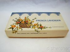 Ben Rickert FRENCH LAVENDER Box of 3 Soap Bars 3 oz ea NEW NIB imp