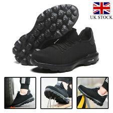 Safety Shoes Mens & Women Lightweight Steel Toe Cap Work Shoes Trainers Boots UK