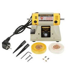 220V 350W Bench Electric Grinder Polishing Machine Jewelry Dental Lathe Motor RH