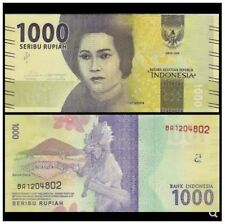 Indonesia 1000 Rupiah 100pcs 2016 (UNC) 全新 印度尼西亚1000卢比纸币 100张整刀 2016年
