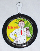 """Vintage HIRES ROOT BEER Stamped Tin-Clip Badge ~ """"Just what the Doctor ordered"""""""