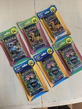 6x Pokemon XY Evolutions 2 Mini Boosters 1 Bonus Cards DG Blister Pack Lot