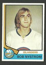 Bob Nystrom New York Islanders 1974-75 Topps Hockey Card #123   NM/M