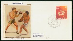 Mayfairstamps Canada FDC 1976 Olympics Boxing Sports wwk_36893