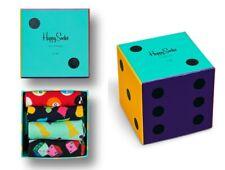 Happy Socks Game Night 4er Giftbox, Geschenkbox - schwarz / bunt - 36-4+ 41-46