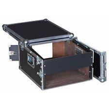 8 Sp Over 3 Sp Rack/Mixer ATA Case w/Flip Back Top for Laptops, Monitors, I Pads