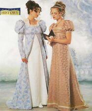 OoP PATTERN for Empire gown Jane Austen Regency Butterick 6630 sz 6 8 10 Zombie
