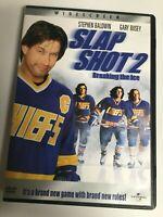 Slap Shot 2: Breaking the Ice (DVD,2002,Widescreen) Not a Scratch! USA!