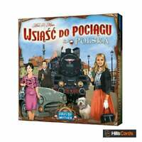 Ticket To Ride Polska (Poland) Board Game Map Expansion | Includes English Rules
