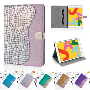 For iPad 10.2 Air 3 10.5 2019 Pro 11 2021 Anti-drop Stand Glitter Tablet Case