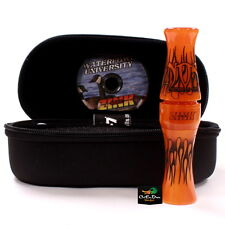 ZINK CALLS NOS NIGHTMARE ON STAGE ORANGE MARBLEADE ACRLYIC CANADA GOOSE CALL