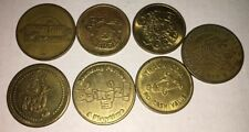 New listing Lot of 7 Vintage Game Tokens The Track Branson Mo Odyssey World No Cash Value