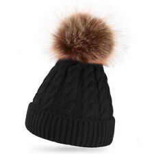 ISASSY Women's Bubble Knit Baggy Beanie Hat Winter Warm Ski Slouchy Skull Cap