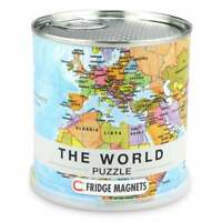 World Political Map Magnetic Jigsaw Puzzle