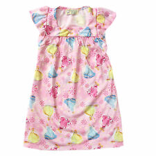 Girls Kid/Toddler Pink Princess Sleepdress/Nightdress Sleepwear, XXL (8-10 y/o)