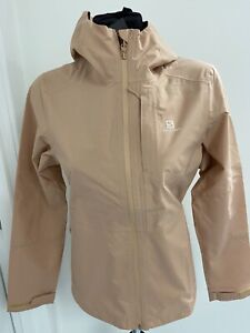 Salomon Ladies Outrack Waterproof Jacket, Size Med - Brand New