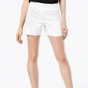 NWT INC International Concepts Mid-Rise Core Short Bright White Size 18W