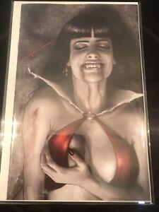 Vampirella 14 * NM+ * Carla Cohen Virgin Variant Exclusive 100 B&W Black White