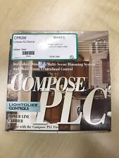 New White Lightolier CPR3W Compose PLC  Remote Designer-Styled Switch