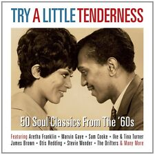 TRY A LITTLE TENDERNESS (STEVIE WONDER, THE IMPRESSIONS, SAM COOKE,) 2 CD NEU
