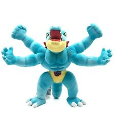 Xmas Holiday Gift Machamp Feraligatr Plush Toy Pokemon Stuffed Figure 12'' Doll