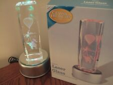 Classic Treasures Laser Glass Light Elephant New