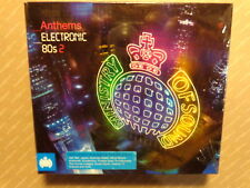 ANTHEMS  ELECTRONIC 80s  2  -  MINISTRY OF SOUND  - 3 CD 2010  NUOVO E SIGILLATO
