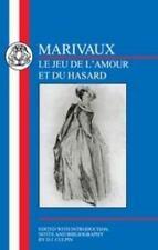 Marivaux: Le Jeu de l'amour and du Hasard (French Texts)