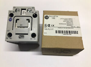 Allen Bradley Rockwell 100-FL11T Mechanical Latch 240VAC For 100 Series FL11