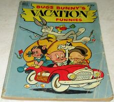 Bugs Bunny Vacation Funnies 1, (Vg+ 4.5) 1952, 112 pages! 40% off Guide
