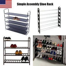 4/5/6/10-Tier Rack Household Simple Assembly Adjustable Shoe Rack Home Storage