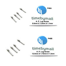 For AUDEMARS PIGUET 4X Link Screw Pins Watch Strap Band Stainless Steel Part