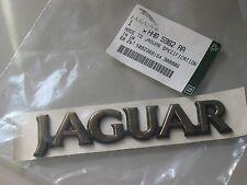 "JAGUAR XJS  ""JAGUAR"" GOLD REAR BADGE NOS HHB 5982 AA"