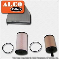 SERVICE KIT for AUDI A3 (8P) 2.0 TDI 8V ALCO OIL FUEL CABIN FILTERS (2005-2017)