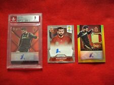 Gerard Piqué (3).2014 World Cup+2015 Select Soccer Red, Gold Jersey. Auto Spain